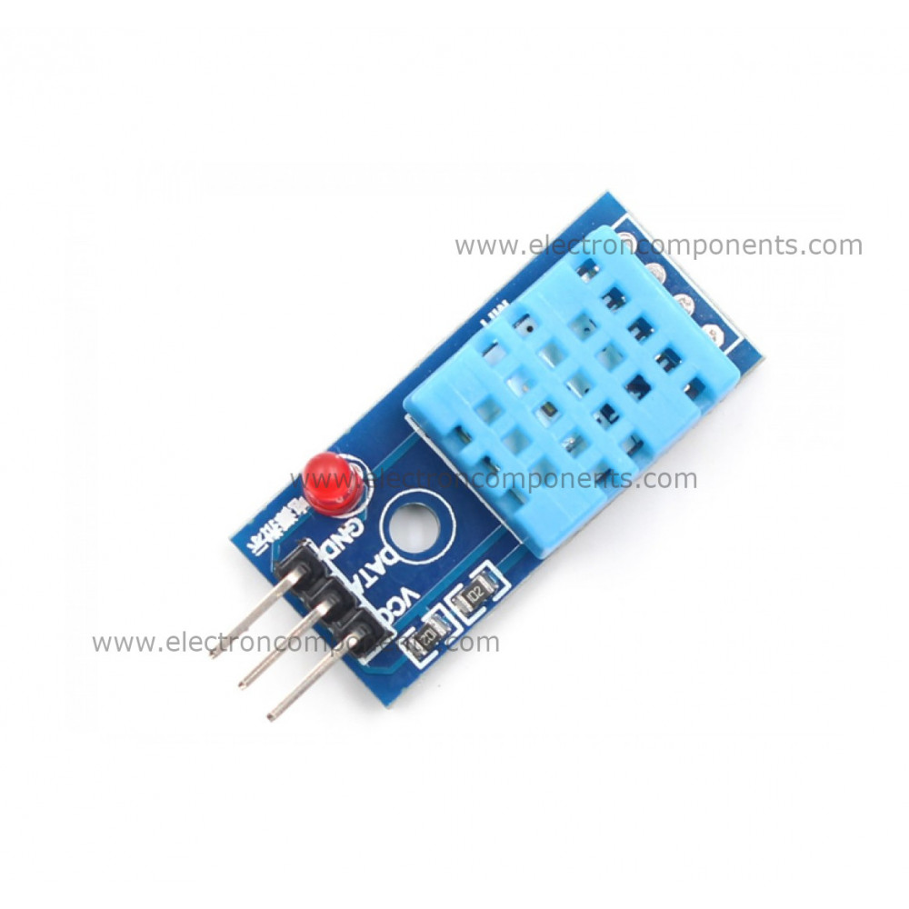 DHT-11 Temperature And Humidity Sensor Module Board (compatible with Arduino)
