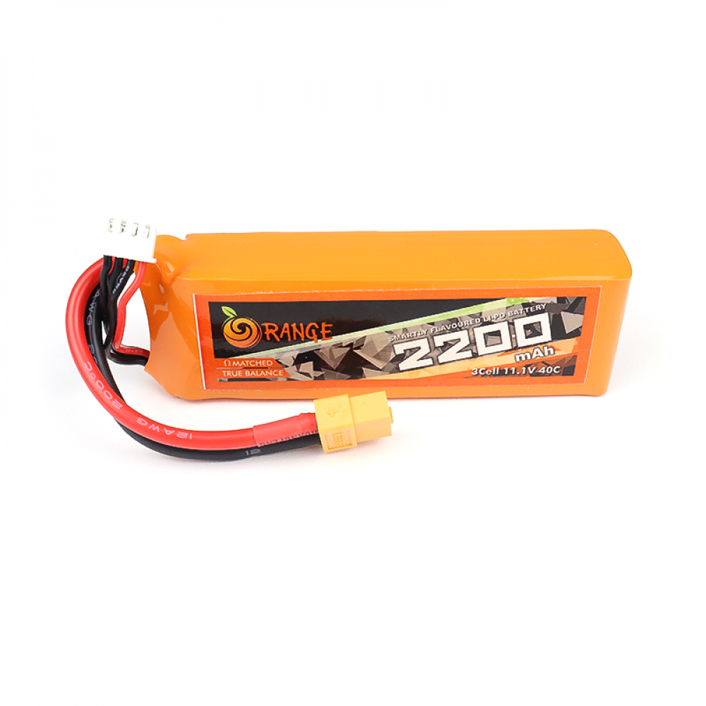 11.1V - 2200mAH - (Lithium Polymer) Lipo Rechargeable Battery - 3S
