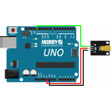 Laser Module 650NM 5V - (Compatible with Arduino)