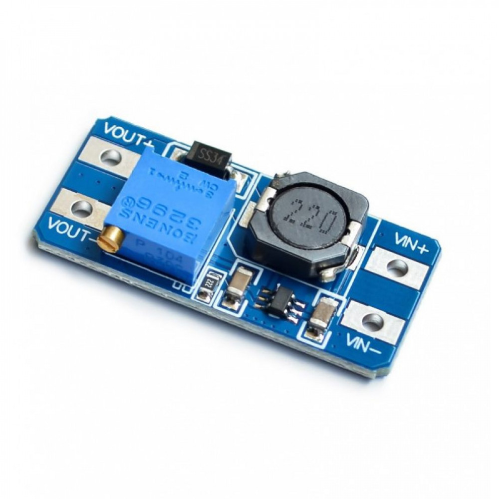 MT3608 2A Max DC-DC Step Up Power Module Booster Adjustable Power Supply