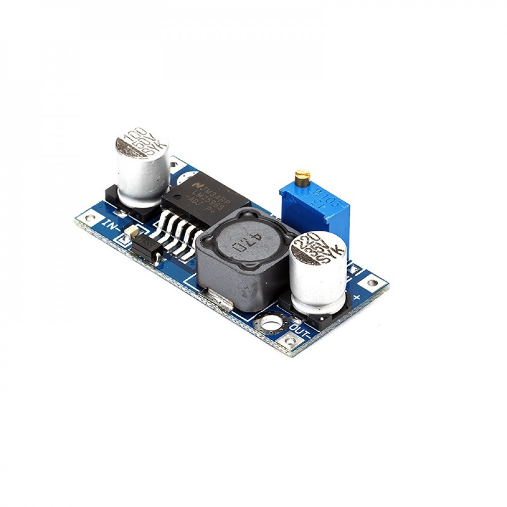 LM2596 : DC-DC Buck Converter Power Supply - Step down Module (variable voltage)