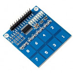 8 Ch - Touch Sensor Module Board (TTP226 Touch Key / Touch Switch) - [Compatible with Arduino]