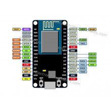 WIFI IOT - ESP8266 NodeMCU CP2102 board (compatible with Arduino)