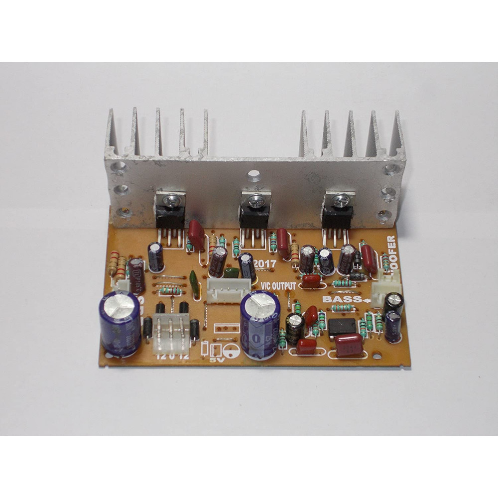 2.1 Home Theater Amplifier Board 100 Watt with Bass Boost - TDA2030