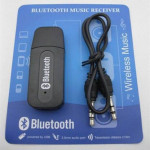 Bluetooth Stereo Adapter Audio Receiver 3.5mm with AUX Cable