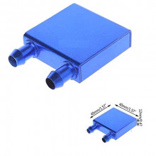 Aluminium Water Cooling Block Head - 40x40 mm (Heat Sink)