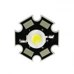 1 Watt LED White [1W] with Heat Sink