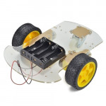 2 wheel drive - Two Wheel Drive Robot Chassis Smart Car with battery holder - (Compatible with Arduino)