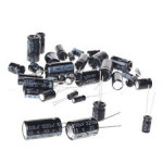 Group of 10 Types of Radial Electrolytic Capacitor (50 Nos) - Capacitor set