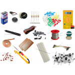 Electronic Starter Kit (Soldering Iron Kit) - 1 (Hobby Kit) - [864 parts]